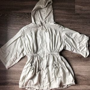 Free People Cinched Waist Lightweight Jacket